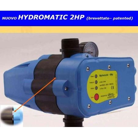 Presscontrol Hydromatic 2 HP con manometro brevetto italiano Matic